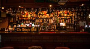 Dingle Pub's Bar